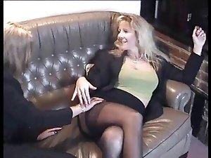 Lesbian stockings porn Mature
